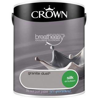 CROWN SILK EMULSION - GRANITE DUST 2.5L