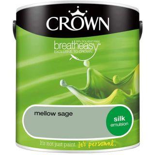 CROWN SILK EMULSION - MELLOW SAGE 2.5L