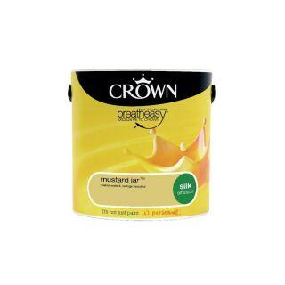 CROWN SILK EMULSION - MUSTARD JAR 2.5L
