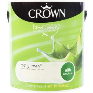 CROWN SILK EMULSION - ROOF GARDEN 2.5L