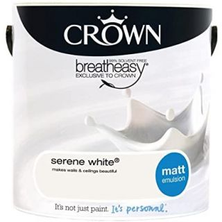 CROWN SILK EMULSION - SERENE WHITE 2.5L