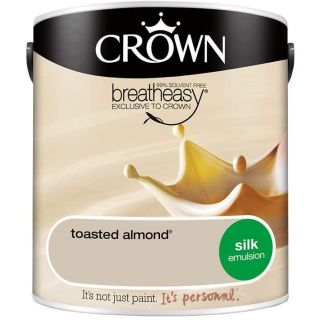 CROWN SILK EMULSION - TOASTED ALMOND 2.5L