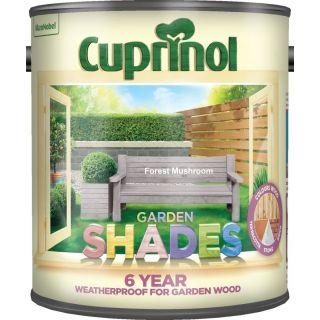 Cuprinol Garden Shades Special Mix Colours Forest Mushroom 2.5L