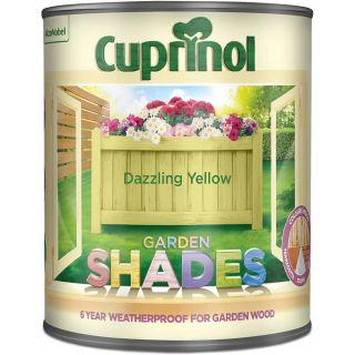 Cuprinol Garden Shades - Dazzling Yellow 1L
