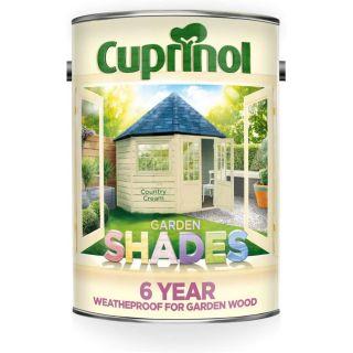 Cuprinol Garden Shades Paint - Country Cream 5L