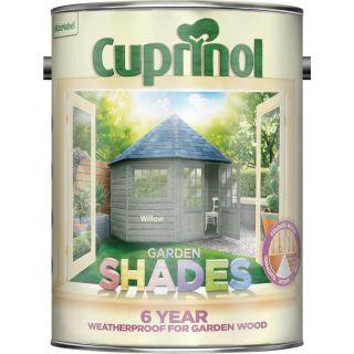 Cuprinol Garden Shades Paint - Willow 5L