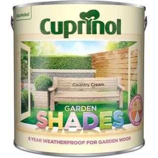 Cuprinol Garden Shades - Country Cream 2.5L