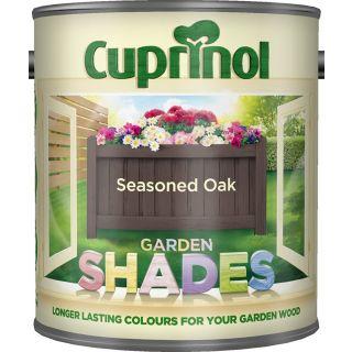 New 2015 Cuprinol Garden Shades Seasoned Oak 1L