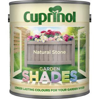 New 2016 Cuprinol Garden Shades Natural Stone 1L
