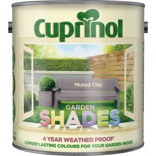 New 2017 Cuprinol Garden Shades Muted Clay 2.5L