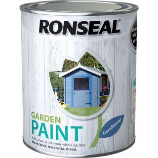 Ronseal General Purpose Garden Paint Cornflower 250Ml