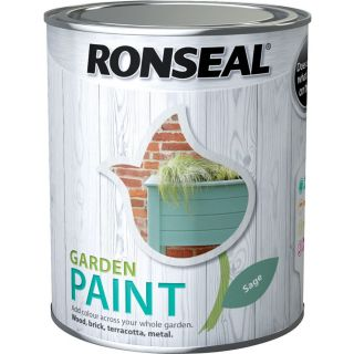 Ronseal General Purpose Garden Paint Sage 250ml