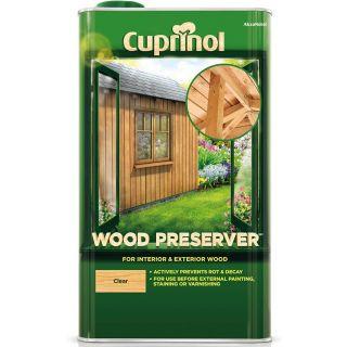 Cuprinol Wood Preserver - Clear 5L