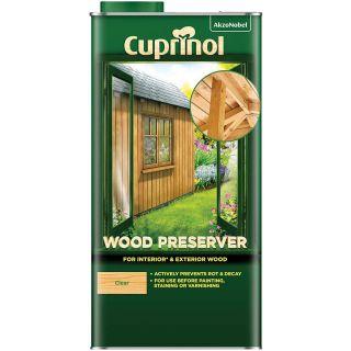 Cuprinol Water Based Wood Preserver - Clear 5L