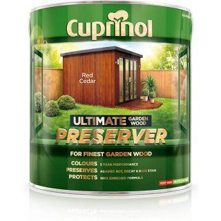 Cuprinol Ultimate Garden Wood Preserver - Red Cedar 4L