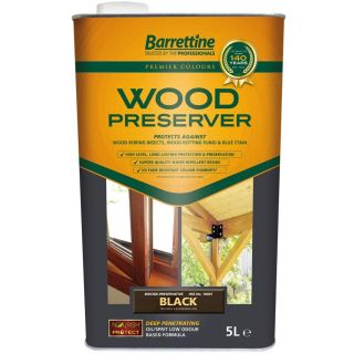 Nourish & Protect New Wood Preserver - Black 5L