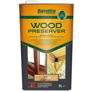 Nourish & Protect Wood Preserver - Clear 5L