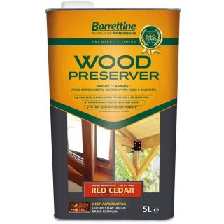 Nourish & Protect Wood Preserver - Red Cedar 5L