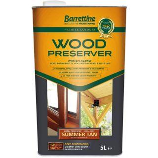 Nourish & Protect Wood Preserver - Summer Tan 5L