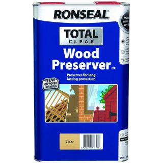 RONSEAL Total Wood Preserver - Clear 5L