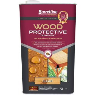 Nourish & Protect Wood Protective Treatment - Clear 5L