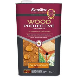 Nourish & Protect Wood Protective Treatment - Golden Brown 5L