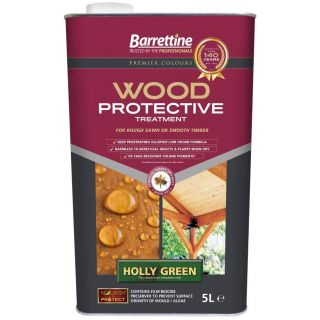 Nourish & Wood Protective Treatment - Holly Green 5L