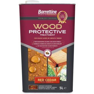Nourish & Protect Wood Protective Treatment Red Cedar 5L