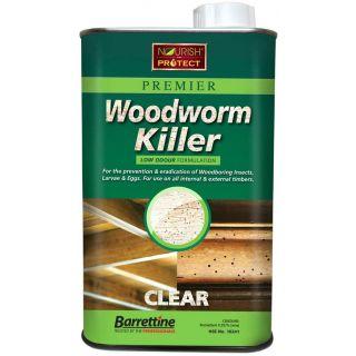 Nourish & Protect Solvent Preserver Woodworm Killer 1L