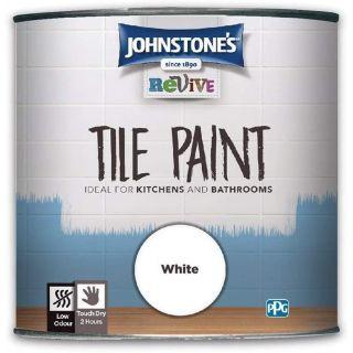 Johnstones Revive Tile Paint White 750ml
