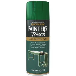 Rust-Oleum Painter's Touch Spray Paint - Racing Green Gloss 400ml