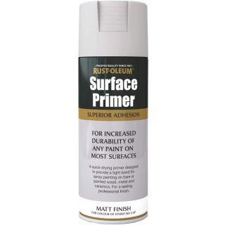Rust-Oleum Surface Primer Grey 400ml