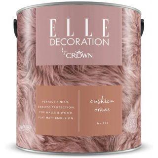 ELLE Decoration by CROWN Flat MATT Emulsion Paint - Cushion Craze No 468 2.5L