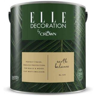 ELLE Decoration by CROWN Flat MATT Emulsion Paint - Enchanted Ivy No 362 2.5L