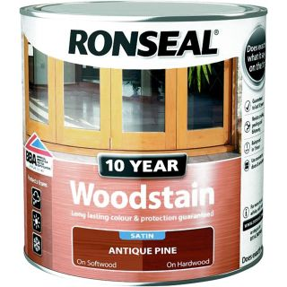 Ronseal 10 Year Woodstain Antique Pine 2.5L