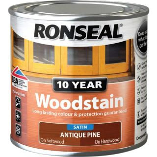Ronseal 10 Year Woodstain Antique Pine 250ml