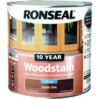Ronseal 10 Year Woodstain Dark Oak 2.5L