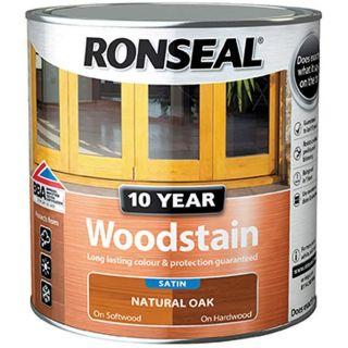 RONSEAL 10 Year Woodstain Natural Oak 750ml