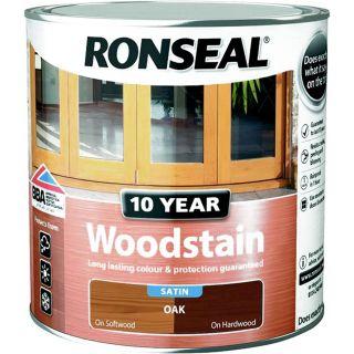 RONSEAL 10 Year Woodstain Oak 2.5L