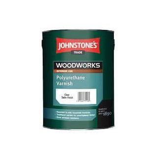 Johnstones Polyurethane Varnish Gloss Clear 0.75L