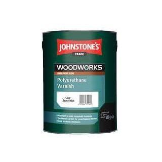 Johnstones Polyurethane Varnish Mahogany 0.75L