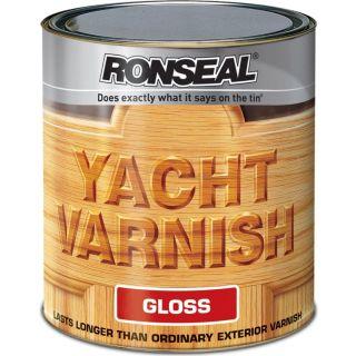 Ronseal Exterior Yacht Varnish Gloss 1L