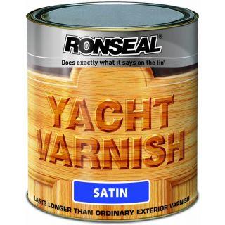Ronseal Exterior Yacht Varnish Satin 250ml