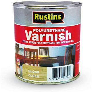 Rustins Poly Gloss Varnish-Clear 250ml
