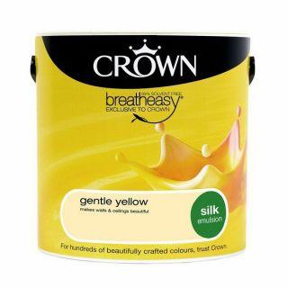 Crown Silk Emulsion - Gentle Yellow 2.5L