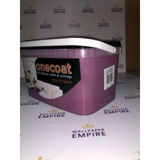One Coat Matt Emulsion - Purple 5L