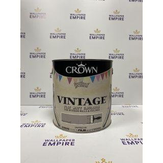 Crown Vintage Flat Matt Emulsion Paint For Interior Walls Ceilings Rockin Around