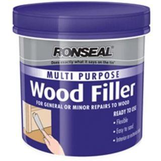 Ronseal 34746 Multi Purpurpose Wood Filler Light 465g