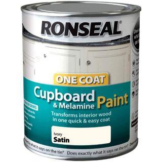 Ronseal OC Cupboard Paint Satin 750ML
