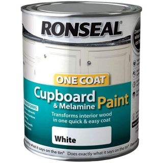 RONSEAL OC Cupboard Paint Gloss White 750ML